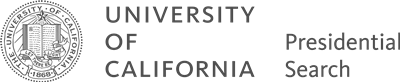 University of California presidential search